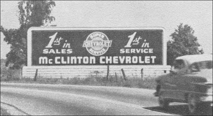 parkersburg west virginia billboards photo 2 mcclinton chevrolet. Black Bedroom Furniture Sets. Home Design Ideas