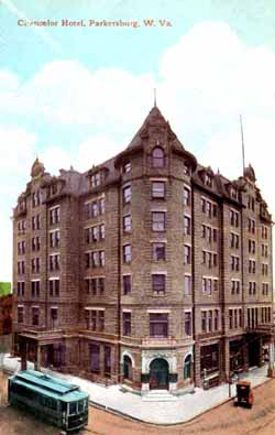The Chancellor Hotel Seen Here Circa 1910 Was Built In 1901 On Southeast Corner Of 7th Market Replacing A Methodist Church That Had Stood There