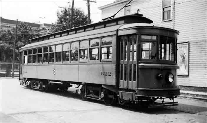 PARKERSBURG WEST VIRGINIA STREETCARS