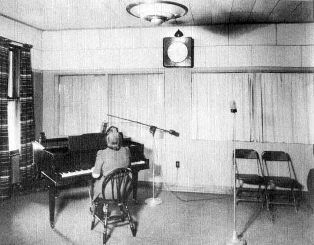Parkersburg West Virginia Wpar Vintage Radio Station